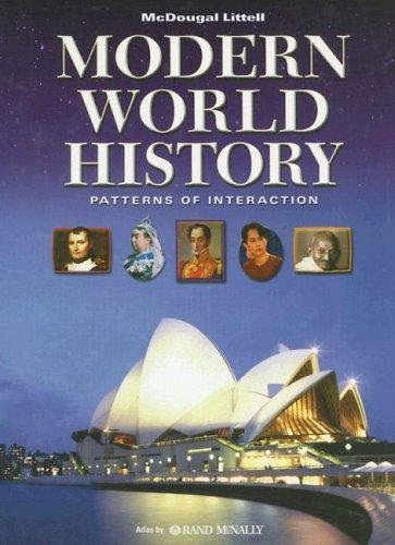 World History: Patterns of Interaction, Student Edition: MCDOUGAL LITTEL