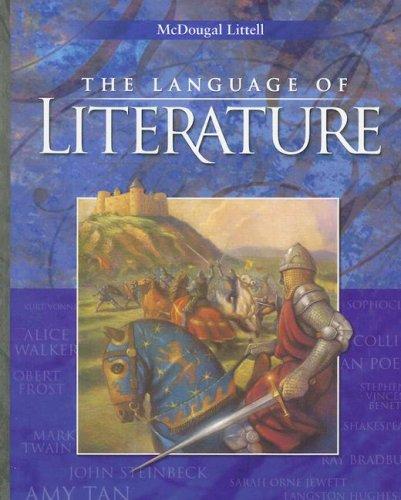 9780618690183: Language of Literature: Level 10 California Edition (McDougal Littell Language of Literature)