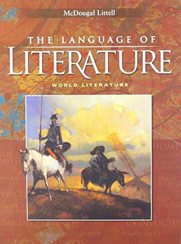 9780618690237: McDougal Littell Language of Literature California: Student Edition World Literature 2006