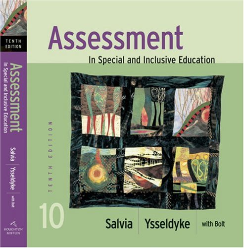 9780618692699: Assessment: In Special and Inclusive Education