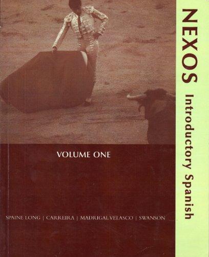 9780618695249: Nexos: Introductory Spanish Vol 1 (Nexos: Introdustory Spanish, 1)
