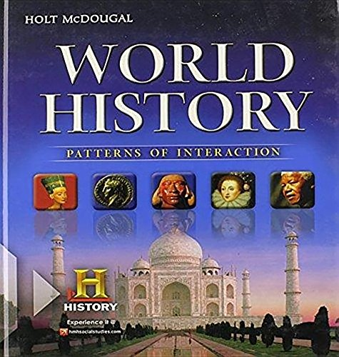 9780618696987: McDougal Littell World History: Patterns of Interaction New York: Global Studies and Geography Regents Exam Handbook Grades 9-12