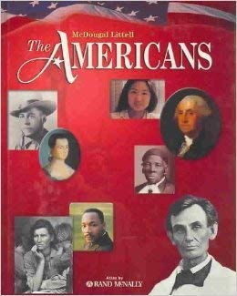 9780618697830: The Americans Grades 9-12: McDougal Littell the Americans New York