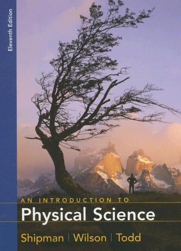 An Introduction to Physical Science: Aaron W. Todd;