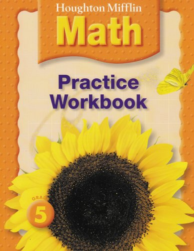 9780618698783: Houghton Mifflin Math: Practice Book Grade 5