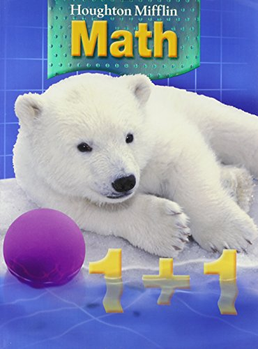 9780618699421: Houghton Mifflin Math: Student Book + Writie-On, Wipe-Off Workmats Grade 1 2007