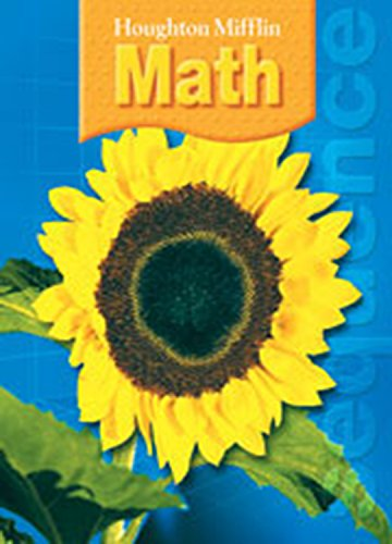 9780618699469: Houghton Mifflin Math: Student Book + Writie-On, Wipe-Off Workmats Grade 5 2007
