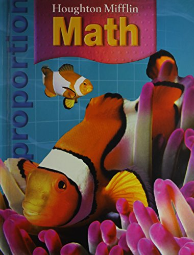 9780618699476: Houghton Mifflin Math: Student Book + Writie-On, Wipe-Off Workmats Grade 6 2007