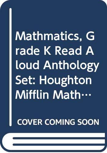 9780618700332: Houghton Mifflin Math: Read Aloud Big Book Anthologies Grade K