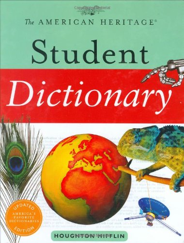 9780618701490: The American Heritage Student Dictionary