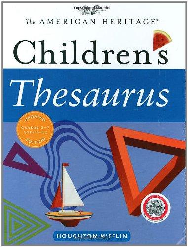 9780618701667: The American Heritage Children's Thesaurus