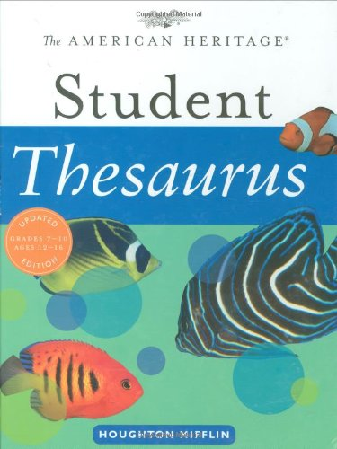 9780618701704: The American Heritage Student Thesaurus
