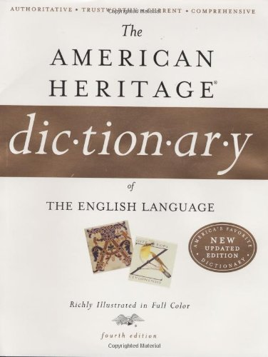 9780618701735: The American Heritage Dictionary of the English Language