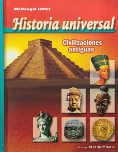 9780618705344: McDougal Littell World History: Ancient Civilizations: Student Edition (Spanish) 2006 (Spanish Edition)