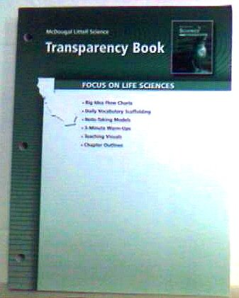 McDougal Littell Science California: Transparency Book Grade