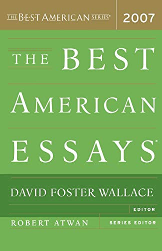 9780618709274: The Best American Essays 2007
