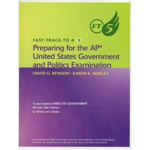 9780618709304: Fast Track to A 5: Preparing for the AP United States Government and Politics Examination To Accompany American Government