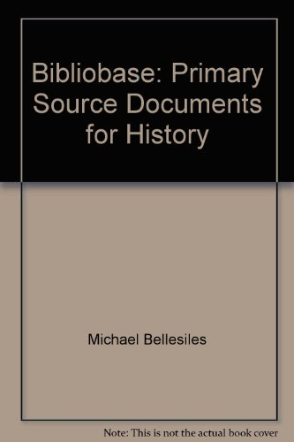 9780618709977: Bibliobase: Primary Source Documents for History