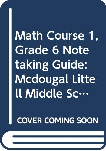 McDougal Littell Middle School Math Illinois: Notetaking Guide (Student) Grade 6 (0618710337) by MCDOUGAL LITTEL