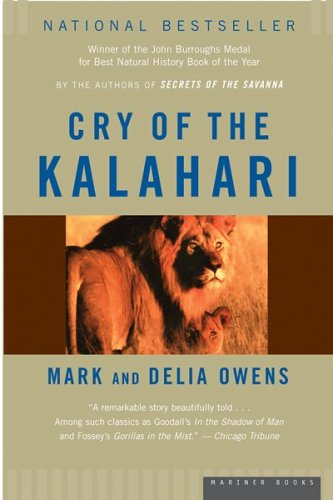 9780618711888: Cry of the Kalahari