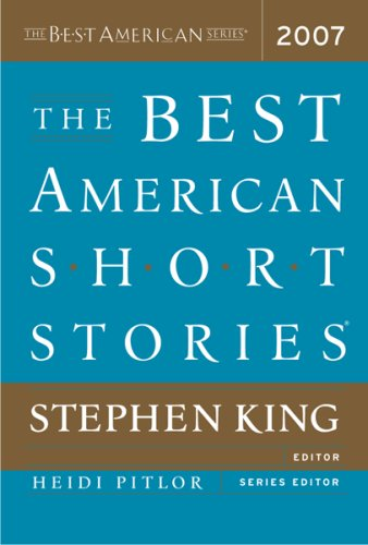 9780618713479: The Best American Short Stories