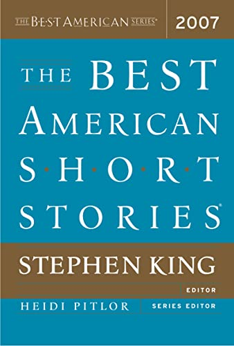 Best American Short Stories 07 Pa (The: King, Stephen