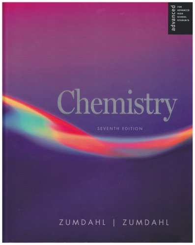 9780618713707: Chemistry Advanced Placement Seventh Edition