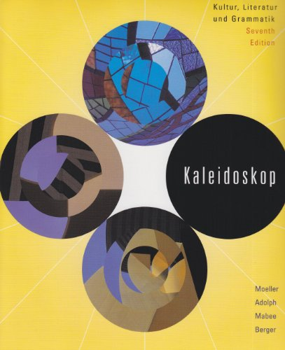 9780618714605: Kaleidoskop: Text With In-text Audio Cd (German Edition)
