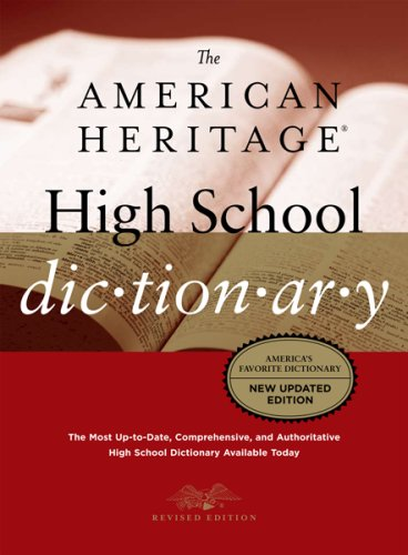 9780618714872: The American Heritage High School Dictionary, Fourth Edition