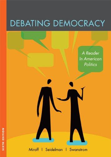 9780618719174: Debating Democracy: A Reader in American Politics