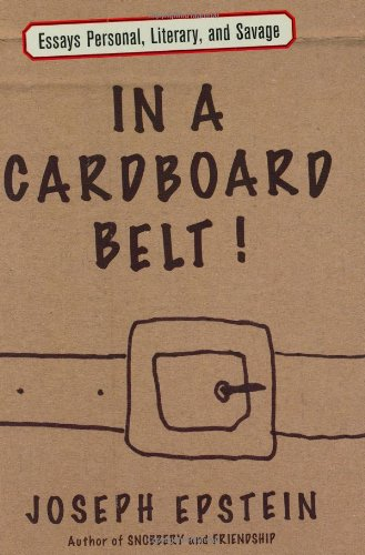9780618721931: In a Cardboard Belt!: Essays Personal, Literary, and Savage