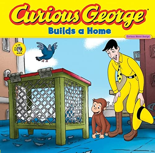 Curious George Builds a Home (CGTV 8x8): Rey, H. A.