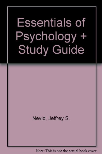 9780618724420: Essentials of Psychology + Study Guide
