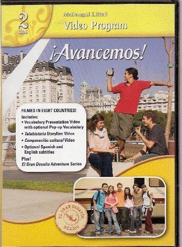 9780618724475: ¡Avancemos!: Video Program DVD Level 2 (Spanish Edition)