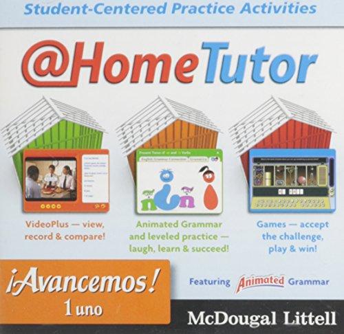 9780618724499: Avancemos Level 1, Grades 9-12 at Home Tutor: Mcdougal Littell Avancemos (Ml Spanish)