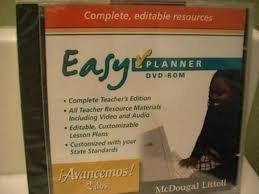9780618724802: ?Avancemos!: EasyPlanner DVD-ROM Level 1