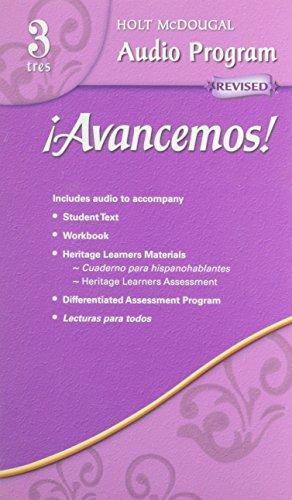 9780618725038: ¡Avancemos!: Audio CD Program Level 3 (Spanish Edition)