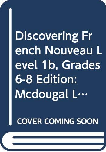 9780618725052: Discovering French, Nouveau!: eEdition CD-ROM Level 1B 2007