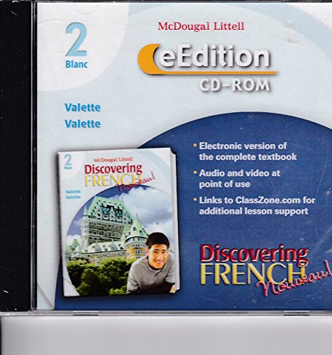 9780618725083: Discovering French, Nouveau!: eEdition CD-ROM Level 2 2007