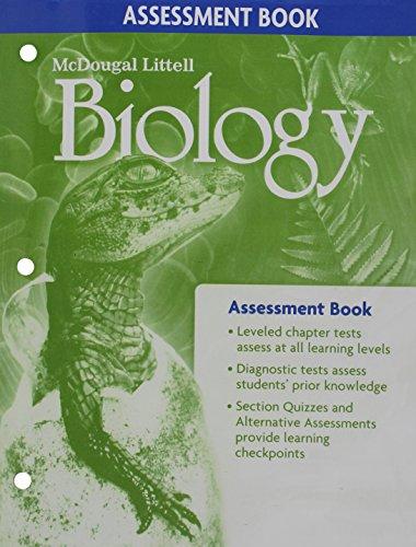 9780618725465: Biology Assessment Book