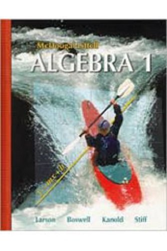 9780618726479: Holt McDougal Larson Algebra 1: EasyPlanner DVD-ROM
