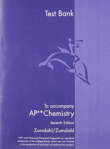 9780618730148: Chemistry Ap Test Bank 7e