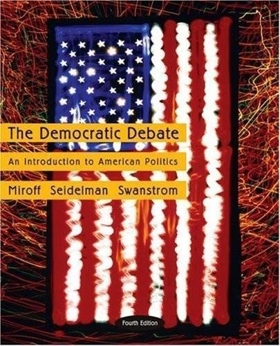 9780618730292: The Democratic Debate: An Introduction to American Politics