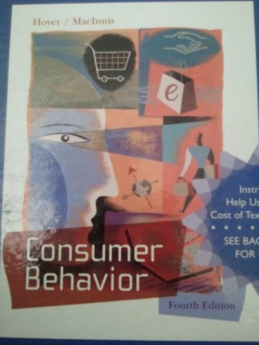 9780618731817: Consumer Behavior (Instructor's Edition) Edition: Fourth