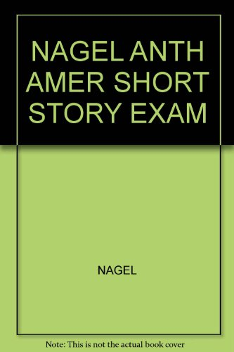 Anthology of the American Short Story