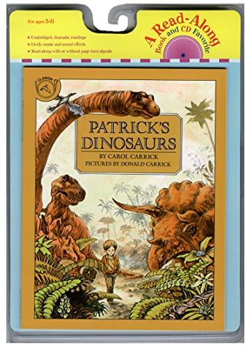 9780618732753: Patrick's Dinosaurs Book & CD (Read Along Book & CD)
