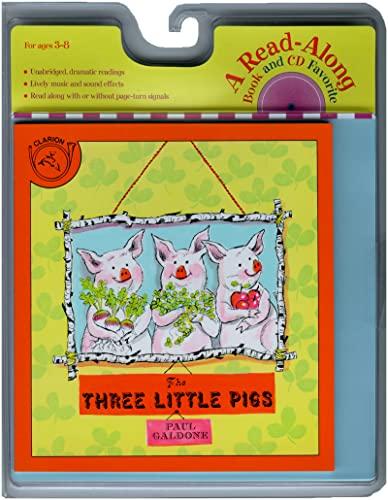 9780618732777: The Three Little Pigs Book & CD (Paul Galdone Classics)