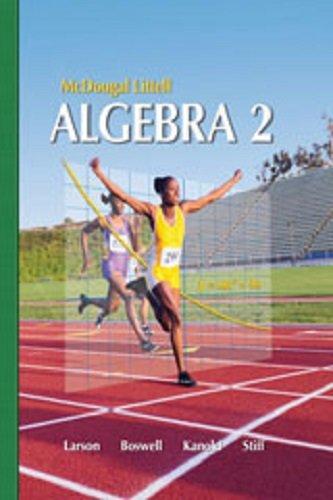 9780618734498: Holt McDougal Larson Algebra 2: Resource Book: Chapter 5