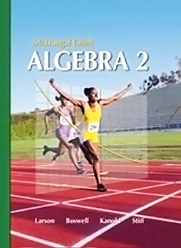 9780618734542: Holt McDougal Larson Algebra 2: Resource Book: Chapter 10