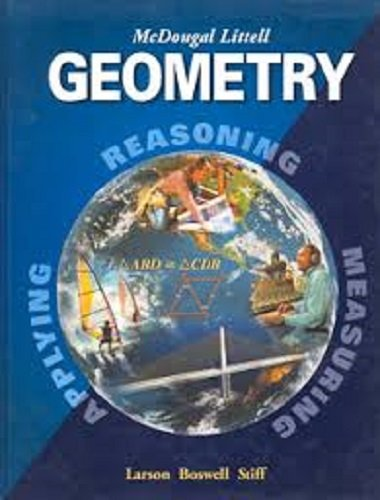 9780618735815: Holt McDougal Larson Geometry: Transparency Book: Chapter 9 Geometry